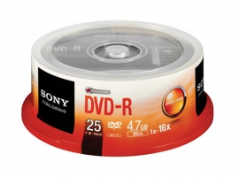 25DMR47S3-Data Storage Media-DVD