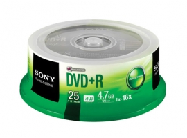 25DPR47S3-Data Storage Media-DVD