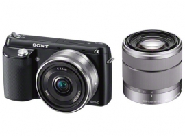 NEX-F3D/B-Interchangeable Lens Camera-NEX-F3