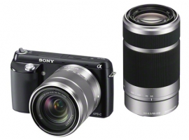 NEX-F3Y/B-Interchangeable Lens Camera-NEX-F3