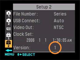 DSC-H2 Firmware Update | Sony AU