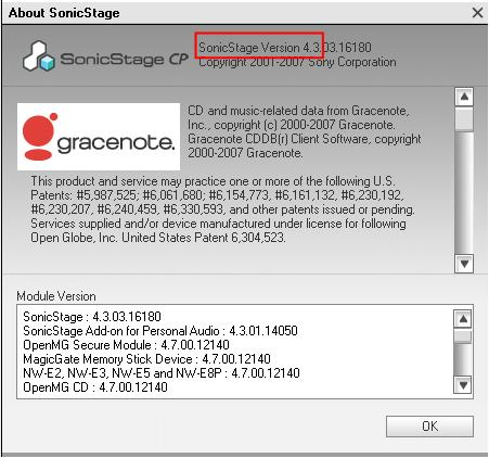 sonicstage pour windows 7