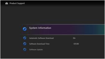 System Software Update (PKG4 027AAA)For Korea | Sony AP
