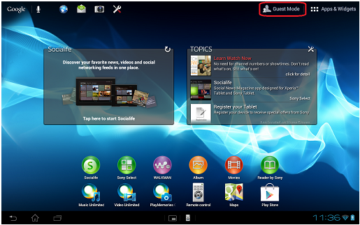 Benefits of the Android Version 4 0 3 release 5 upgrade for the Sony