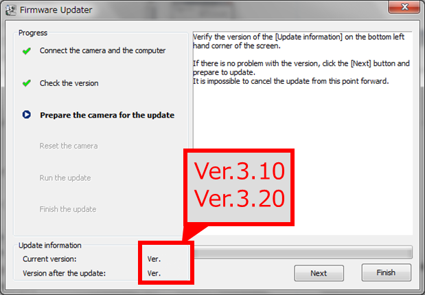 ILCE-7 Firmware Update for Windows | Sony TH
