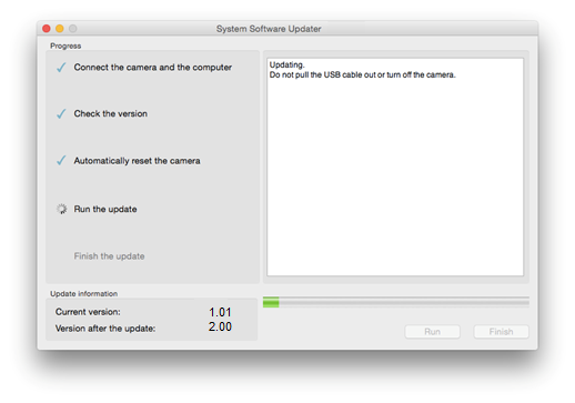 DSC-RX100M5 Firmware Update For Mac OS | Sony TH